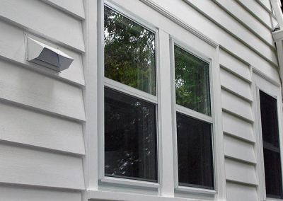 All of our Best series storm windows have a Double insulated glass panel for an extreamly air tight fit.