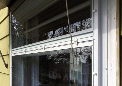 Here is a Picture storm window divided into 2 sections or lites.